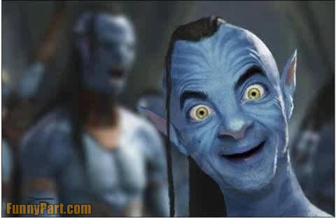 Mr Bean In Avatar Funny